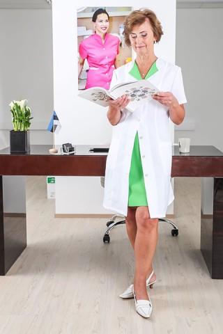 kittel clinica rohelise liistuga, siljal volt, seelik clinica copy